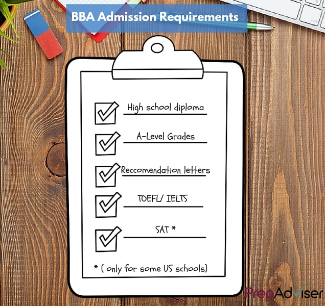 BBA requirements