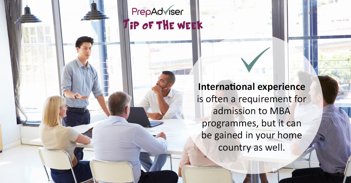 Tip International Experience