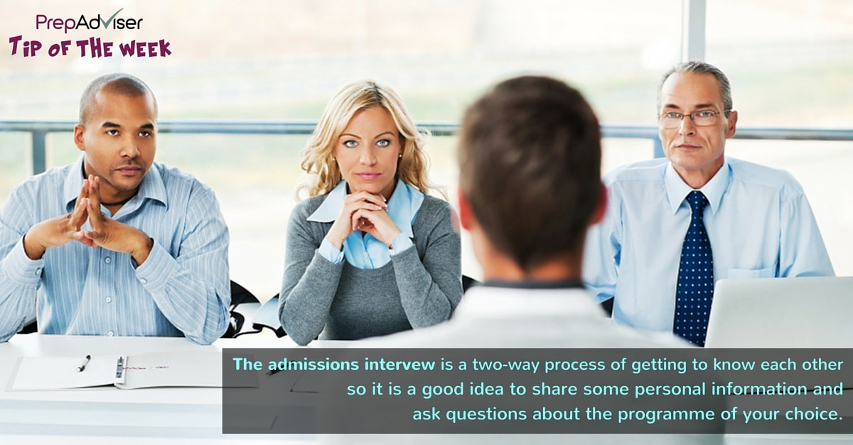 Tip MBA Admission Interview