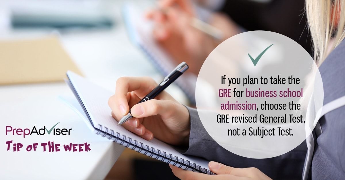 Tip GRE General Test vs Subject Tests