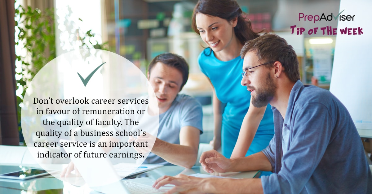 Tip MBA Career Services B-School Selection