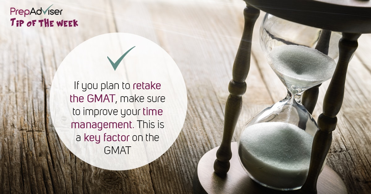 Time management key for GMAT