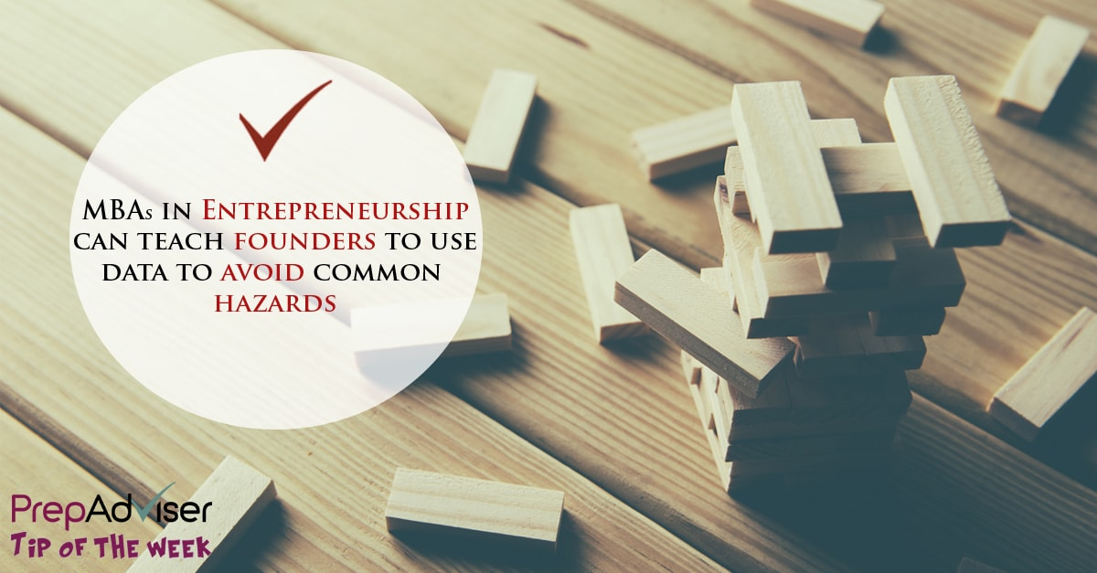 Tip MBAs in Entrepreneurship hazards