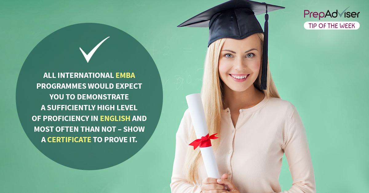 Language Tests for Executive MBA (Part I)
