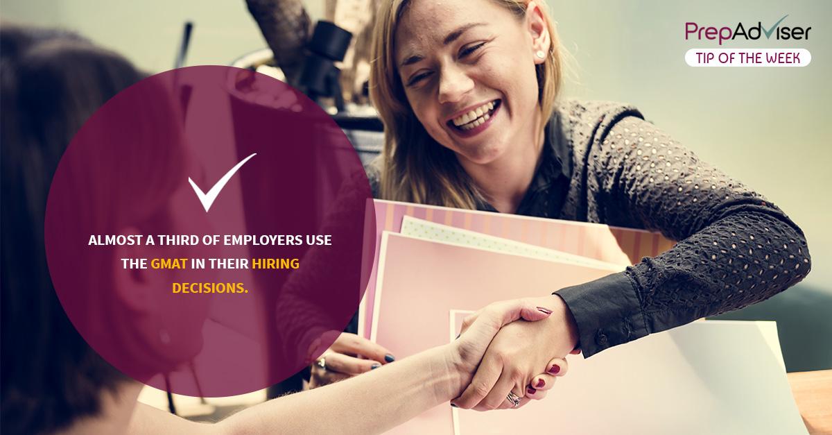 Employers Like a Good GMAT Score